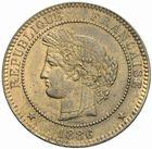 Photo numismatique  MONNAIES MODERNES FRANÇAISES 3ème REPUBLIQUE (4 septembre 1870-10 juillet 1940)  10 centimes 1886.