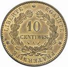 Photo numismatique  MONNAIES MODERNES FRANÇAISES 3ème REPUBLIQUE (4 septembre 1870-10 juillet 1940)  10 centimes 1890.
