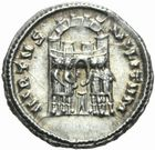 Photo numismatique  MONNAIES EMPIRE ROMAIN CONSTANCE CHLORE (César 293-305 - Auguste 305-306)  Argenteus de Siscia.
