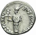Photo numismatique  MONNAIES RÉPUBLIQUE ROMAINE JULES CESAR (100-44)  Denier frappé sous Auguste, 17 avant J.C.