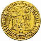 Photo numismatique  MONNAIES BARONNIALES Comté de PROVENCE CHARLES Ier d'ANJOU (1246-1285) Salut d'or, frappé à partir de 1278 à Naples.