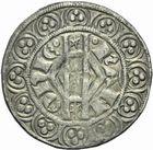 Photo numismatique  MONNAIES BARONNIALES Comté de HAINAUT JEAN II d'Avesnes (1280-1304) Gros tournois.