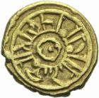 Photo numismatique  MONNAIES MONNAIES DU MONDE ITALIE NORMANDS DE SICILE Guillaume Ier (1154-1160) Tari d'or.
