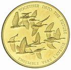Photo numismatique  MONNAIES MONNAIES DU MONDE CANADA ELIZABETH II (depuis 1952) 100 dollars or 1978.