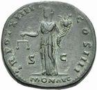 Photo numismatique  MONNAIES EMPIRE ROMAIN ANTONIN LE PIEUX (César 138 - Auguste 138-161)  Sesterce.