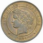 Photo numismatique  MONNAIES MODERNES FRANÇAISES 3ème REPUBLIQUE (4 septembre 1870-10 juillet 1940)  10 centimes, Paris 1891.