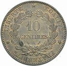 Photo numismatique  MONNAIES MODERNES FRANÇAISES 3ème REPUBLIQUE (4 septembre 1870-10 juillet 1940)  10 centimes, Paris 1896.