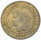 Photo numismatique  MONNAIES MODERNES FRANÇAISES 3ème REPUBLIQUE (4 septembre 1870-10 juillet 1940)  5 centimes, Paris 1885.