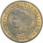 Photo numismatique  MONNAIES MODERNES FRANÇAISES 3ème REPUBLIQUE (4 septembre 1870-10 juillet 1940)  5 centimes, Paris 1893.