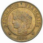 Photo numismatique  MONNAIES MODERNES FRANÇAISES 3ème REPUBLIQUE (4 septembre 1870-10 juillet 1940)  2 centimes, Paris 1894.