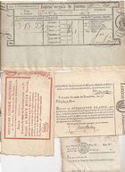 Photo numismatique  ARCHIVES VENTE 2011 -Coll Amateur Bourguignon 2 PAPIER MONNAIE BILLETS DE LOTERIE  706- LOT.