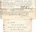 Photo numismatique  ARCHIVES VENTE 2011 -Coll Amateur Bourguignon 2 PAPIER MONNAIE ACTIONS DIVERSES  703- LOT.