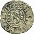 Photo numismatique  ARCHIVES VENTE 2011 -Coll Amateur Bourguignon 2 BARONNIALES Duché de BOURGOGNE HUGUES II (1102-1143) 291- Denier de Chalon.