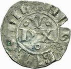 Photo numismatique  ARCHIVES VENTE 2011 -Coll Amateur Bourguignon 2 BARONNIALES Duché de BOURGOGNE HUGUES II (1102-1143) 285- Denier de Dijon.