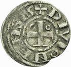Photo numismatique  ARCHIVES VENTE 2011 -Coll Amateur Bourguignon 2 BARONNIALES Duché de BOURGOGNE DIJON - SAINT-BENIGNE (fin XIe-début XIIe) 280- Denier de Dijon.