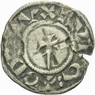 Photo numismatique  ARCHIVES VENTE 2011 -Coll Amateur Bourguignon 2 BARONNIALES Duché de BOURGOGNE EUDES Ier (1079-1102) 273- Denier de Dijon, 1er type.