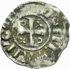 Photo numismatique  ARCHIVES VENTE 2011 -Coll Amateur Bourguignon 2 BARONNIALES Duché de BOURGOGNE - monnayage comtal Epoque d'HUGUES II comte de Chalon (1102-1143) 272- Obole de Chalon.