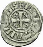 Photo numismatique  ARCHIVES VENTE 2011 -Coll Amateur Bourguignon 2 BARONNIALES Duché de BOURGOGNE - monnayage comtal Epoque d'HUGUES II comte de Chalon (1102-1143) 271- Obole de Chalon.