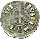 Photo numismatique  ARCHIVES VENTE 2011 -Coll Amateur Bourguignon 2 BARONNIALES Duché de BOURGOGNE - monnayage comtal Epoque d'HUGUES II comte de Chalon (1102-1143) 270- Obole de Chalon.