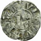 Photo numismatique  ARCHIVES VENTE 2011 -Coll Amateur Bourguignon 2 BARONNIALES Duché de BOURGOGNE - monnayage comtal Epoque d'HUGUES II comte de Chalon (1102-1143) 269- Obole de Chalon.