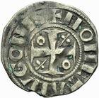 Photo numismatique  ARCHIVES VENTE 2011 -Coll Amateur Bourguignon 2 BARONNIALES Duché de BOURGOGNE - monnayage comtal Epoque d'HUGUES II comte de Chalon (1102-1143) 267- Denier de Chalon.