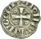 Photo numismatique  ARCHIVES VENTE 2011 -Coll Amateur Bourguignon 2 BARONNIALES Duché de BOURGOGNE - monnayage comtal Epoque d'HUGUES II comte de Chalon (1102-1143) 266- Denier de Chalon.