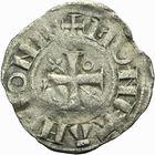 Photo numismatique  ARCHIVES VENTE 2011 -Coll Amateur Bourguignon 2 BARONNIALES Duché de BOURGOGNE - monnayage comtal Epoque d'HUGUES II comte de Chalon (1102-1143) 265- Denier de Chalon.