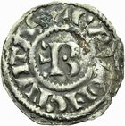 Photo numismatique  ARCHIVES VENTE 2011 -Coll Amateur Bourguignon 2 BARONNIALES Duché de BOURGOGNE - monnayage comtal Comté de CHALON au nom du roi PHILIPPE Ier (1060-1108) 260- Denier de Chalon, 2e type.