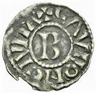 Photo numismatique  ARCHIVES VENTE 2011 -Coll Amateur Bourguignon 2 BARONNIALES Duché de BOURGOGNE - monnayage comtal Comté de CHALON au nom du roi HENRI Ier (1031-1060) 257- Denier de Chalon, 1er type.
