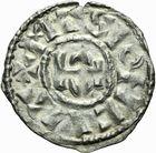 Photo numismatique  ARCHIVES VENTE 2011 -Coll Amateur Bourguignon 2 BARONNIALES Duché de BOURGOGNE - monnayage comtal Comté de MÂCON au nom du roi ROBERT II (996-1031) 255- Denier de Mâcon.