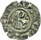 Photo numismatique  ARCHIVES VENTE 2011 -Coll Amateur Bourguignon 2 BARONNIALES Duché de BOURGOGNE - monnayage comtal Comté de MÂCON au nom du roi ROBERT II (996-1031) 254- Obole de Mâcon.