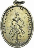 Photo numismatique  ARCHIVES VENTE 2011 -Coll Amateur Bourguignon 2 MEDAILLES MEDAILLES CONCERNANT BOURGOGNE ET FRANCHE-COMTE Médaille de Tir 201- Pommard (Saône-et-Loire), prix au vainqueur, 1847.