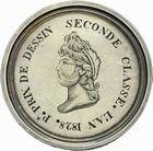 Photo numismatique  ARCHIVES VENTE 2011 -Coll Amateur Bourguignon 2 MÉDAILLES MEDAILLES CONCERNANT BOURGOGNE ET FRANCHE-COMTE Beaune (Côte-d'Or) 199- Beaune (Côte-d'Or), premier prix de dessin, 2de classe, 1828.