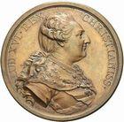 Photo numismatique  ARCHIVES VENTE 2011 -Coll Amateur Bourguignon 2 MÉDAILLES MEDAILLES CONCERNANT BOURGOGNE ET FRANCHE-COMTE Canal de la Saône à l'Yonne 193-Canal de la Saône à l'Yonne, 1785.