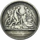 Photo numismatique  ARCHIVES VENTE 2011 -Coll Amateur Bourguignon 2 MÉDAILLES MEDAILLES CONCERNANT BOURGOGNE ET FRANCHE-COMTE Canal de la Saône à l'Yonne 192-Canal de la Saône à l'Yonne, 1785.
