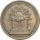 Photo numismatique  ARCHIVES VENTE 2011 -Coll Amateur Bourguignon 2 MEDAILLES MEDAILLES CONCERNANT BOURGOGNE ET FRANCHE-COMTE Voltaire 190- Fran�ois-Marie Arouet dit Voltaire, 1770.