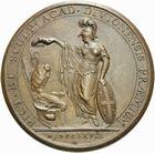 Photo numismatique  ARCHIVES VENTE 2011 -Coll Amateur Bourguignon 2 MÉDAILLES MEDAILLES CONCERNANT BOURGOGNE ET FRANCHE-COMTE Dijon (Côte-d'Or), école de dessin 189- Prix de l'Ecole de dessin et de sculpture de Dijon, 1768.