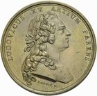 Photo numismatique  ARCHIVES VENTE 2011 -Coll Amateur Bourguignon 2 MEDAILLES MEDAILLES CONCERNANT BOURGOGNE ET FRANCHE-COMTE Naissance du duc de Bourgogne, 1751 188- Naissance du duc de Bourgogne, 1751.