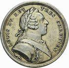 Photo numismatique  ARCHIVES VENTE 2011 -Coll Amateur Bourguignon 2 MEDAILLES MEDAILLES CONCERNANT BOURGOGNE ET FRANCHE-COMTE Naissance du duc de Bourgogne, 1751 186- Naissance du duc de Bourgogne. Mariages de Paris, 1751.