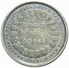 Photo numismatique  ARCHIVES VENTE 2011 -Coll Amateur Bourguignon 2 MEDAILLES MEDAILLES CONCERNANT BOURGOGNE ET FRANCHE-COMTE Naissance du duc de Bourgogne, 1751 184- F�tes � Soleure, pour la naissance du duc de Bourgogne, 1751.