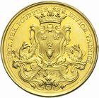 Photo numismatique  ARCHIVES VENTE 2011 -Coll Amateur Bourguignon 2 MEDAILLES MEDAILLES CONCERNANT BOURGOGNE ET FRANCHE-COMTE Acad�mie de Dijon 181- Fondation de l�Acad�mie de Dijon par H.-B. Pouffier, 1740.