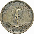 Photo numismatique  ARCHIVES VENTE 2011 -Coll Amateur Bourguignon 2 MEDAILLES MEDAILLES CONCERNANT BOURGOGNE ET FRANCHE-COMTE Mariage du duc de Bourgogne, 1697 180- Mariage du duc de Bourgogne avec Marie-Ad�la�de de Savoie, 1697.