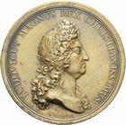 Photo numismatique  ARCHIVES VENTE 2011 -Coll Amateur Bourguignon 2 MEDAILLES MEDAILLES CONCERNANT BOURGOGNE ET FRANCHE-COMTE La famille royale, 1693 178- M�daille de la famille royale, 1693.