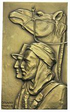 Photo numismatique  ARCHIVES VENTE 2011 -Coll Amateur Bourguignon 2 MÉDAILLES MEDAILLES COLONIALES Algérie 173- Cinquantenaire de la création des Compagnies Sahariennes, 1902-1952.