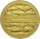 Photo numismatique  ARCHIVES VENTE 2011 -Coll Amateur Bourguignon 2 MÉDAILLES MEDAILLES COLONIALES Algérie 168- Gouvernement général de l'Algérie. Reboisement, 1936.