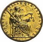 Photo numismatique  ARCHIVES VENTE 2011 MEDAILLES MEDAILLES HISTORIQUES Louis XIII (1610-1643) 164- La Justice assise, 1623.