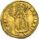 Photo numismatique  ARCHIVES VENTE 2011 -Coll Amateur Bourguignon 2 BARONNIALES et ETRANGERES Royaume de LUXEMBOURG CHARLES IV (1346-1353) 163- Florin d'or émis entre 1348 et 1353.