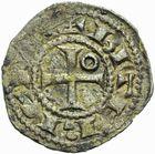 Photo numismatique  ARCHIVES VENTE 2011 -Coll Amateur Bourguignon 2 BARONNIALES et ETRANGERES Vicomté de BEZIERS ROGER II (1167-1194) 156- Obole.
