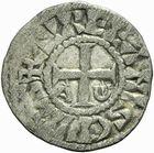 Photo numismatique  ARCHIVES VENTE 2011 -Coll Amateur Bourguignon 2 BARONNIALES et ETRANGERES Vicomté d'ORLEANS ISEMBARD évêque (1033-1063) 149- Obole anonyme.