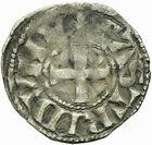 Photo numismatique  ARCHIVES VENTE 2011 -Coll Amateur Bourguignon 2 BARONNIALES et ETRANGERES Vicomté de CHÂTEAUDUN GEOFFROI V (1233-1253) 148- Obole.